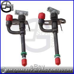 2 PCS Fuel Injectors For John Deere 250 Skid Steer With 3029T ENG 290D Excavator
