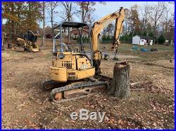 2002 John Deere 35C Hydraulic Mini Excavator Only 1700 Hours