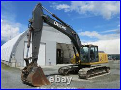 2007 John Deere 240D LC Hydraulic Excavator A/C Cab Hyd Q/C US EPA bidadoo