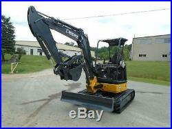 2011 John Deere 35d Mini Excavator