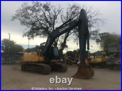 2012 John Deere 290G LC Excavator Enclosed Cab A/C 42 Bucket Aux Hyd bidadoo