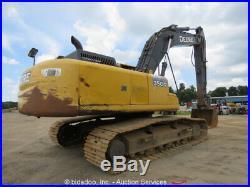 2012 John Deere 350G LC Hydraulic Excavator Tractor A/C Cab Aux Hyd bidadoo