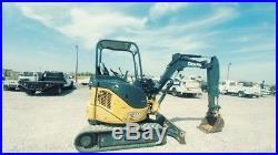 2013 John Deere 27 D 27D Small Excavator Mini EX Trackhoe Push Blade Used