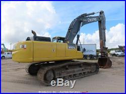 2013 John Deere 350G LC Hydraulic Excavator A/C Cab Tractor bidadoo