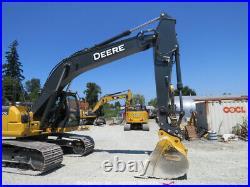 2019 John Deere 210G Hydraulic Excavator A/C Cab Hyd Q/C Aux Hyd US EPA bidadoo