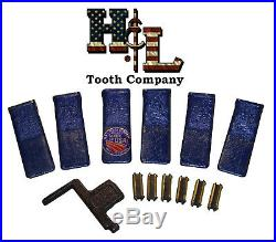 230SP H&L Tooth Original Backhoe Bucket Teeth (6 Pack) USA Forged +23FP Flexpins
