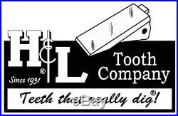 230SP H&L Tooth Original Bucket Teeth (5 Pack) Cast or Forged + 23FP Pins 23 230