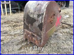 30 Caterpillar 320 320B 320C Hitachi John Deere EX ZX 160 200 Excavator Bucket