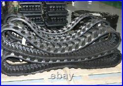 350x52.5x86 Rubber Tracks Set Qty 2 Case CK35 Kobelco SK035 SK35