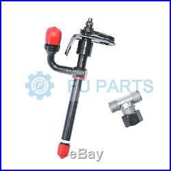 4 Fuel Injector RE38087 for John Deere Excavator 490 495D 590D 595D 690D 790ELC
