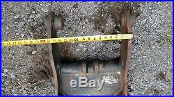 40MM MINI EXCAVATOR HYDRAULIC THUMB JOHN DEERE Takeuchi Cat 303 IHI 35