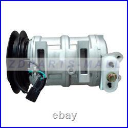A/C Compressor 4456130 for John Deere Excavator 135C 200CLC 210 225CLC 75C 80C