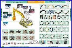 AT196469 Bucket Cylinder Seal Kit Fits John Deere 230C 270C LC 200CLC 230CLC