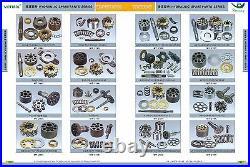 At154227 Hydraulic Gear Pump Fits John Deere Jd 490e, 790elc, Usps