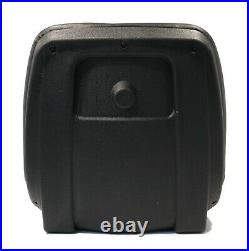 Black High Back Seat for John Deere 4105, 4200, 4210 Compact Utility Tractors