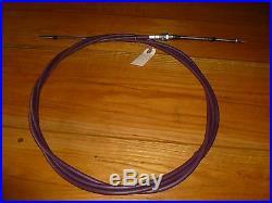 C45 John Deere Hitachi Excavator 490 Push Pull Throttle Cable P/n 4235422