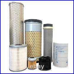CFKIT Filter Kit For/John Deere Mini-Excavator 50G (PIN 1FF050GX H280001)