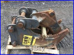 CMW Tree Stump Shear off John Deere 160 Excavator