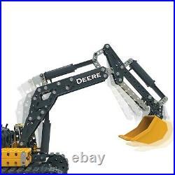 Erector By Meccano John Deere 380g Excavator Building Kit Stem 725 Piece 6046646