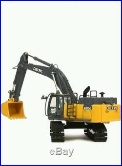 Ertl 1/50 470g lc john deere excavator