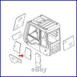 FYA00001501 Upper Rear Door Slider Glass Fits John Deere Excavator 160GLC