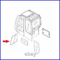 Fits John Deere 4457173 Excavator Front Door Slider Cab Glass