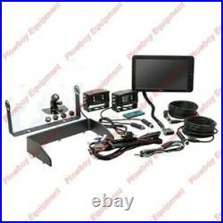 Hi Definition 10 QUAD CabCAM Camera Kit for Tractor Combine Forage Harvester +