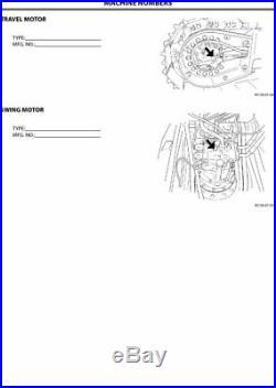 Hitachi Zaxis 180-3 200-3 270-3 330-3 Excavator Operators Manual