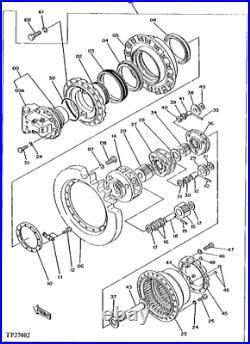 Jd10425 Jd10423 Bearing Fits John Deere 790d 490 690d