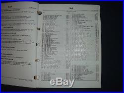 John Deere 120 Excavator Parts Manual Book Catalog Pc-2592 Oem