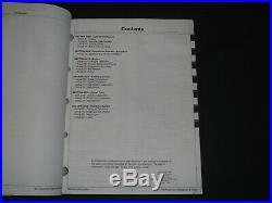 John Deere 120 Excavator Technical Service Shop Op Test Book Manual Tm-1659