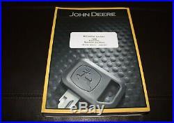John Deere 120d Excavator Operation Test Service Manual Tm10736