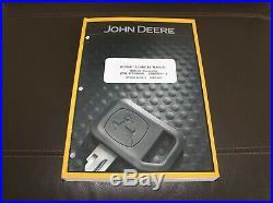 John Deere 180glc Excavator Repair Technical Service Manual Tm12545