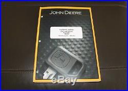 John Deere 200d 200dlc Excavator Repair Technical Service Manual Tm10079
