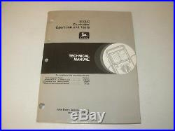 John Deere 230LC Excavator Operation & Tests Manual, TM1665