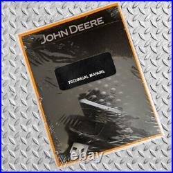 John Deere 27 CZTS, 35 CZTS Excavator Operation & Tests Service Manual TM2052