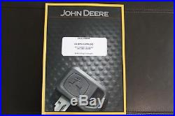 John Deere 27d Compact Excavator Parts Catalog Manual Pc9552