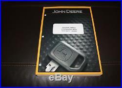 John Deere 27zts Excavator Repair Technical Service Manual Tm1837