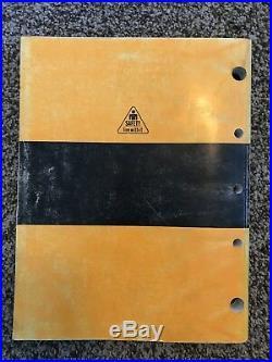 John Deere 330LC & 370 Excavator Owner Operator Maintenance Manual OMT185072
