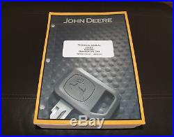 John Deere 350dlc Excavator Service Operation & Test Manual Tm2359