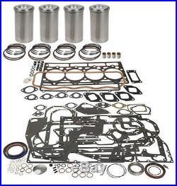 John Deere 4045d 300 Series Inframe Engine Overhaul Kit 410c 510b 450e 455g