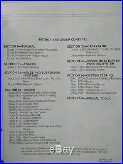 John Deere 490 Excavator Operation & Test Factory Repair Technical Manual TM1302