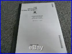 John Deere 490E Excavator Owner Operator Maintenance Manual 025000- OMT152331