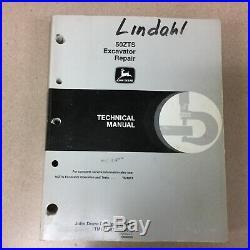 John Deere 50ZTS TECHNICAL REPAIR MANUAL HYDRAULIC EXCAVATOR JD GUIDE TM1818