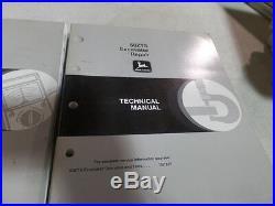 John Deere 50zts Excavator Operation, Test& Repair Technical Manual Tm1817 Tm1818