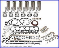 John Deere 6.404t/a Major Engine Overhaul Kit Late 4430 4630 690b 693b 5440