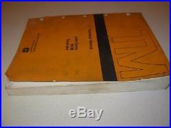 John Deere 690B Excavator Technical Repair Manual, TM-1093
