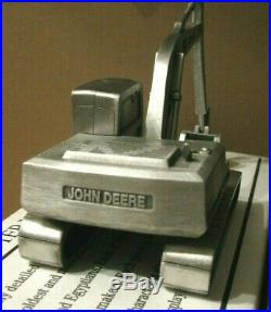 John Deere 690E LC Excavator 1/43 Spec Cast PEWTER Toy JDM061 jd construction