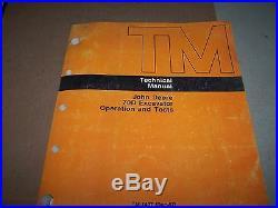 John Deere 70d Excavator Operation & Test Technical Manual