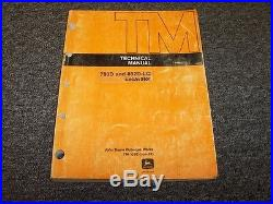 John Deere 790D 892D-LC Excavator Shop Service Repair Technical Manual TM1396